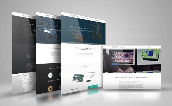 Réalisation de site Internet - Anthemis Technologies