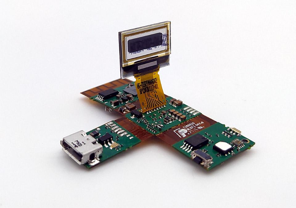 Carte électronique montre connectée