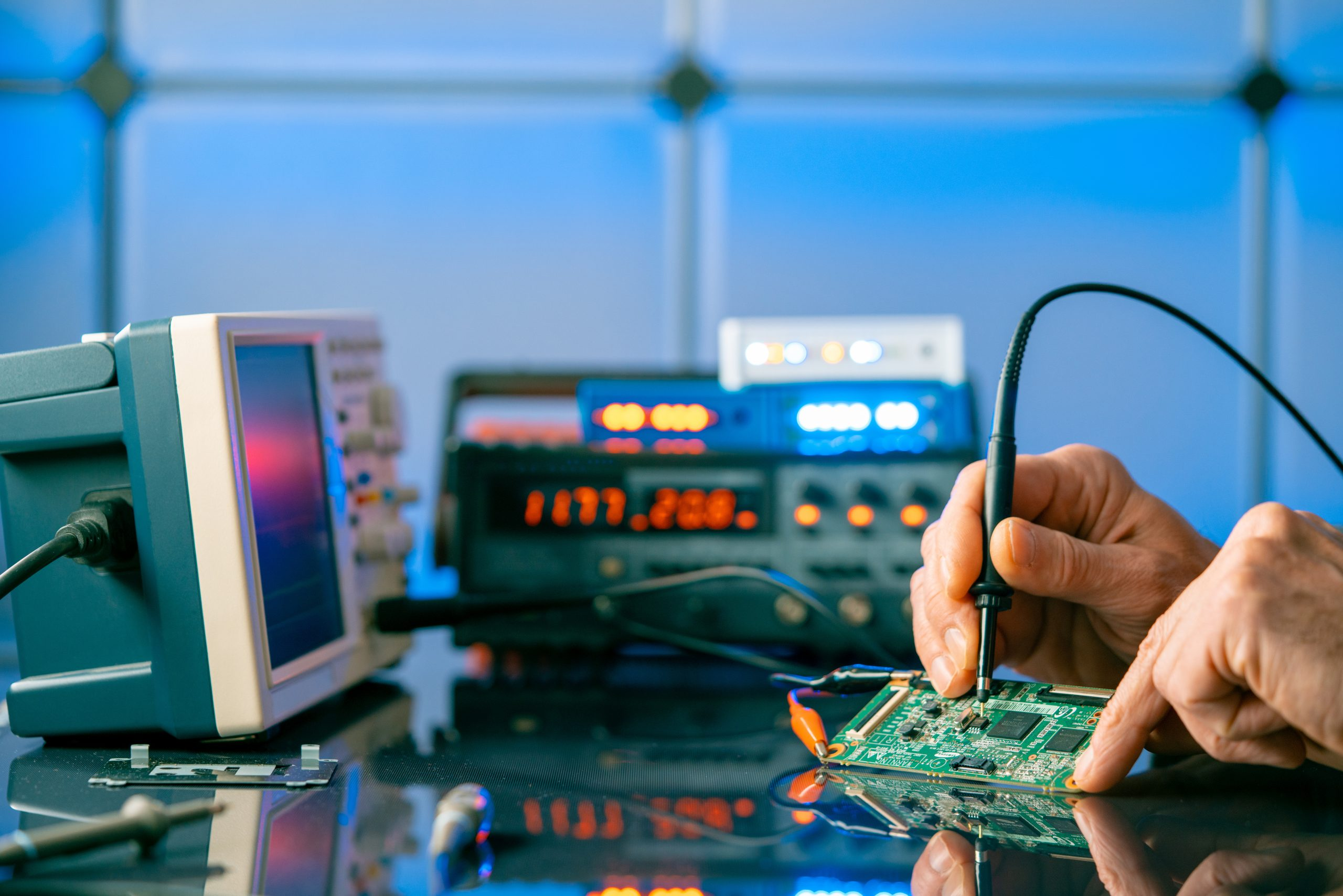 Debugging electronics